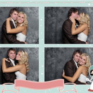 PHOTO BOOTH TEMPLATE 4X6 WEDDING CARTOON